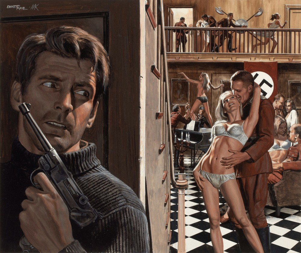 In Praise of Pulp – The Art of Mort Kunstler