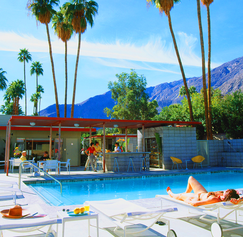 Mid-Century Desert Hideaways – Two Palm Springs Hotels