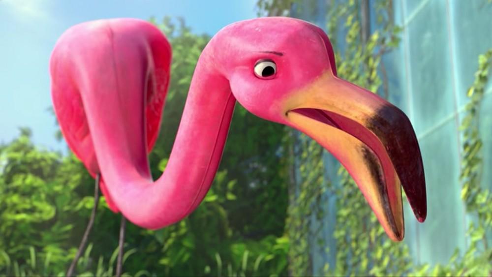 Kitsch A Tale Of A Pink Flamingo Ultra Swank