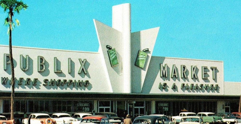 Publix Winter Haven circa 1958