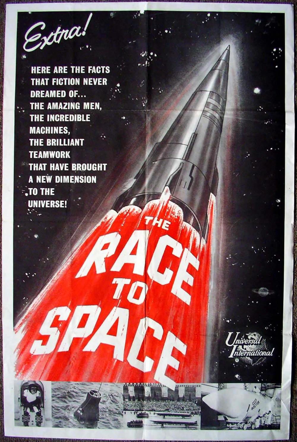 Space Race Propaganda Race-to-space