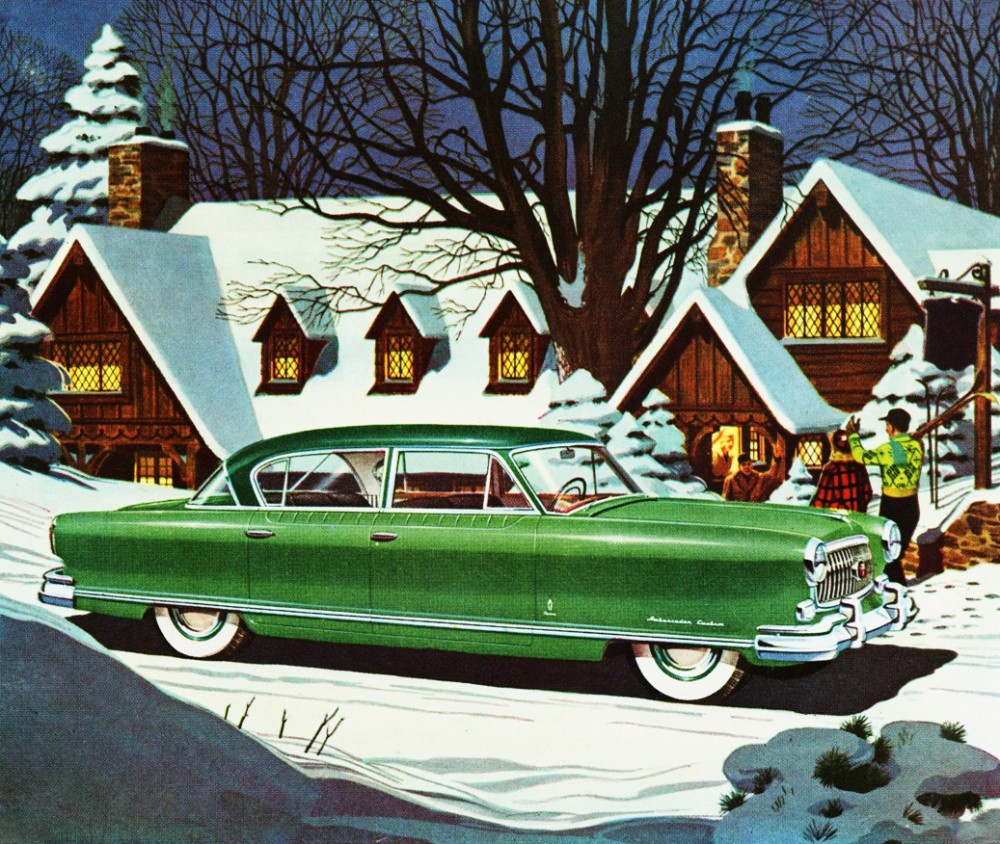 Classic Retro Illustration: Inspiration: Merry Retro Christmas To You All