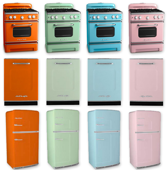 Design: Return of the Retro Kitchen Appliances | Ultra Swank