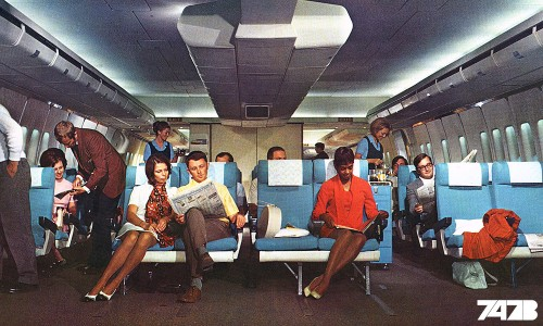 Scandinavian Airlines Boeing 747 – The Viking of the 1970s