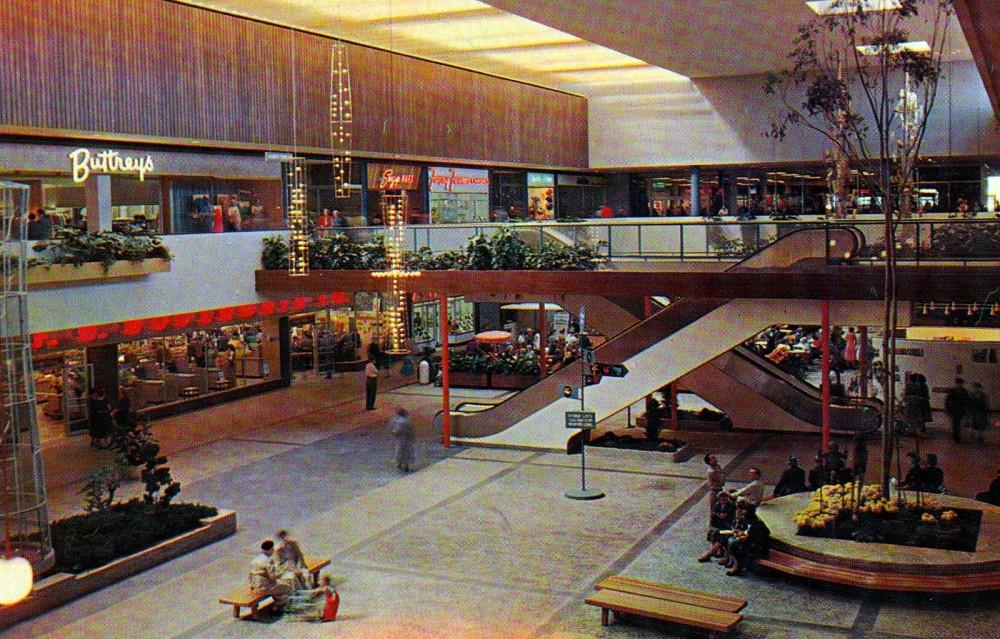 Stores Stylish Mid Century Shopping Malls Ultra Swank