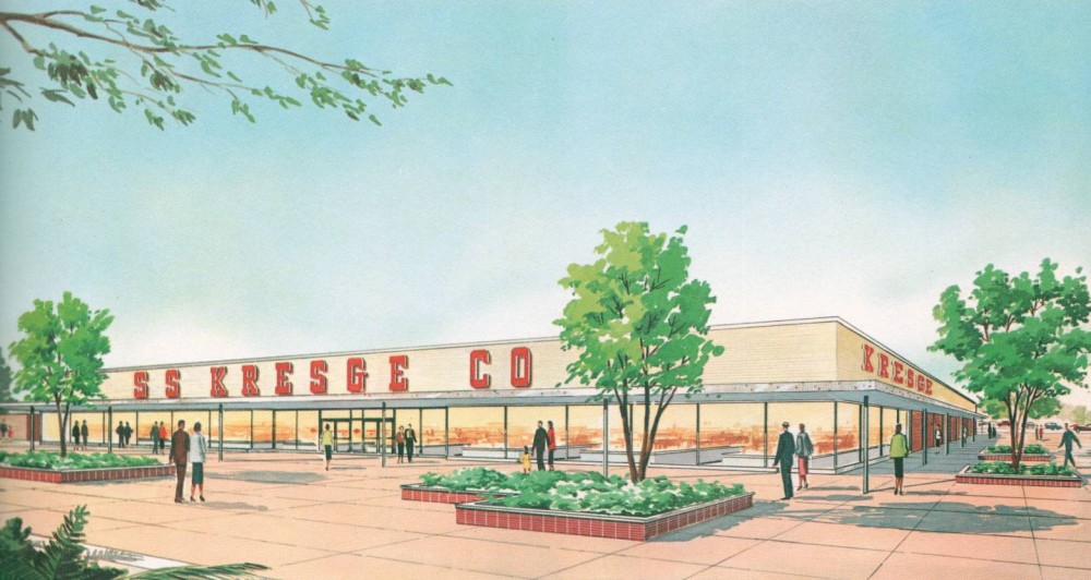 S.S. Kresge circa 1959