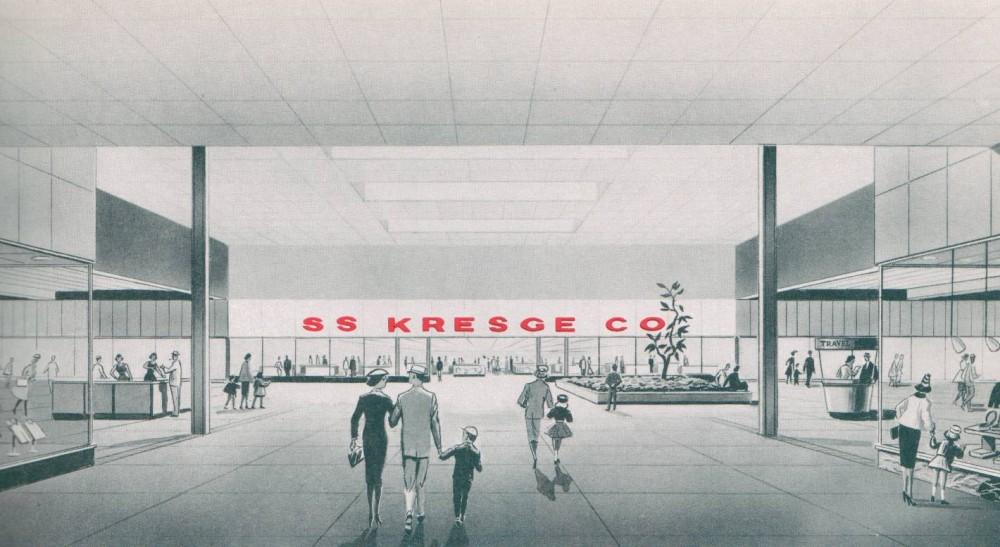 S.S. Kresge circa 1960