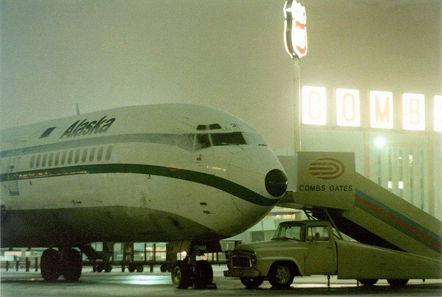 Stapleton Airport in Denver
