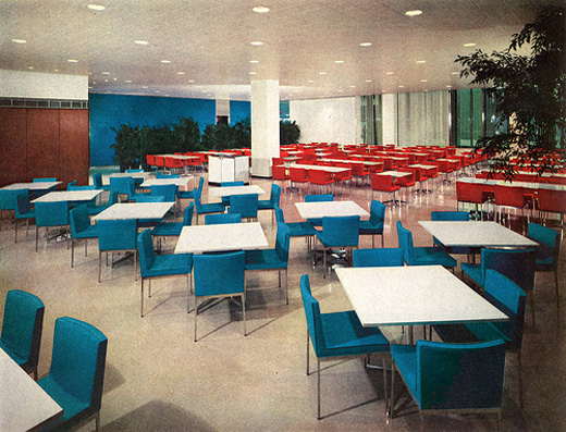 Elegant Mid Century Office Design