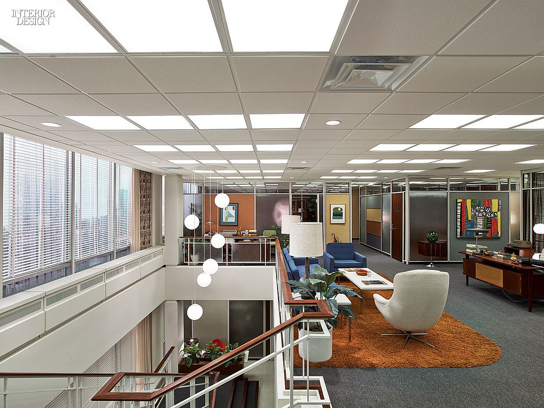 Mad Men Office Design A Tour Of The Sterling Cooper & Partners Office  Ultra Swank