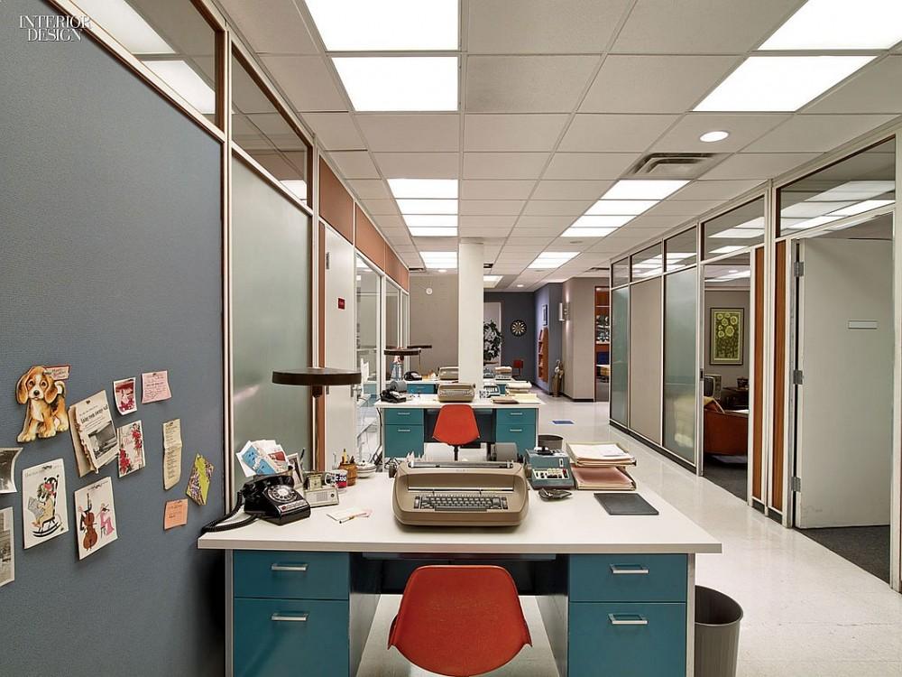 Secretarial desks are reproductions