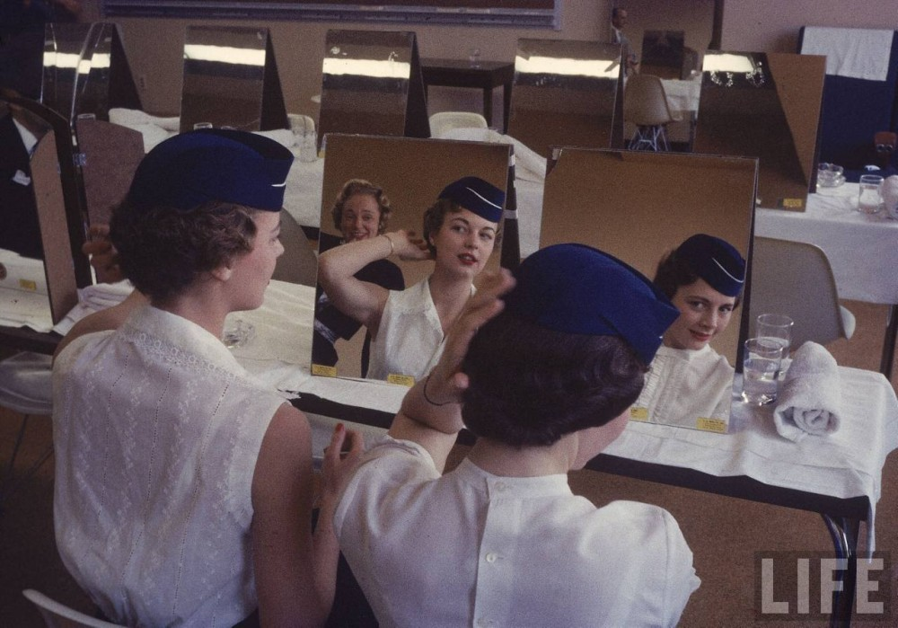 How to Become a Stewardess in the 1950s