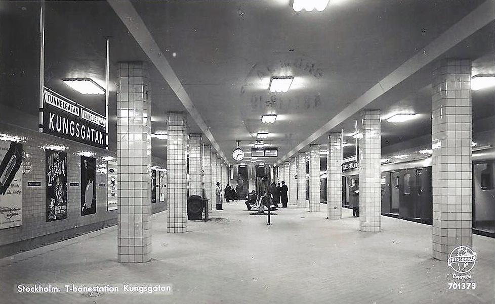 Stockholm, Subway station Kungsgatan