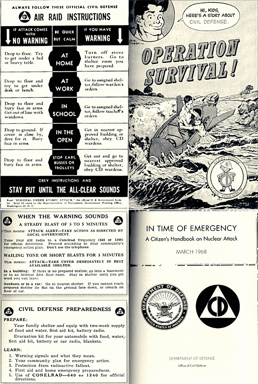 Survival guide to nuclear war now