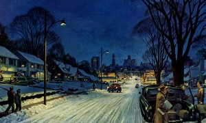 Retro Christmas Advertisements from Mid-Century America