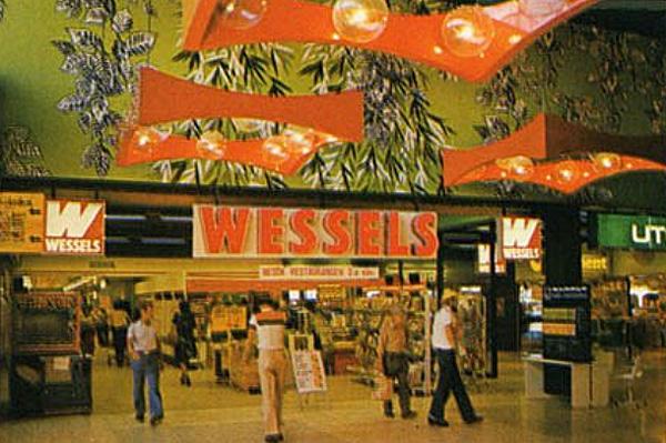 Stores V 228 La Centrum A Kitschy Swedish Shopping Mall