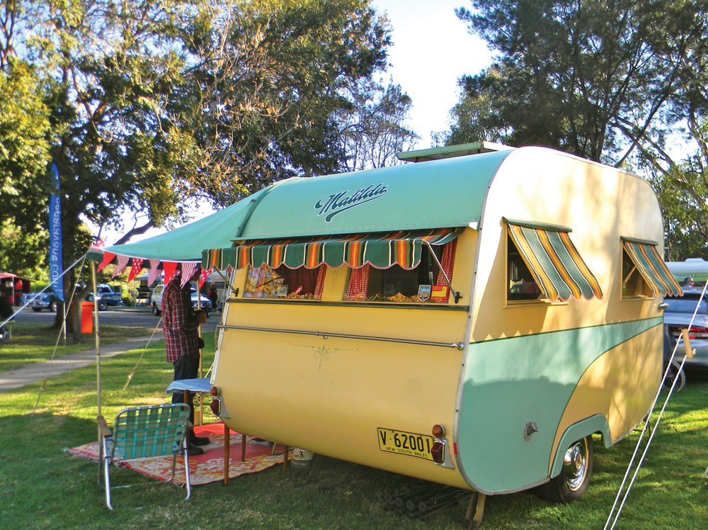 Vintage Camper Awning 13