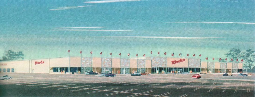 Woolco, East Brunswick, New Jersey circa 1965